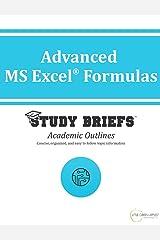 Advanced MS Excel Formulas Kindle Edition