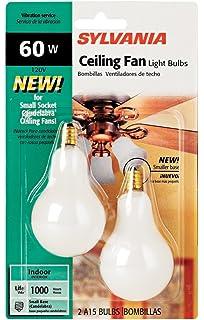 Syl Ceiling Fan Bulb 40w Size 2ct Syl Ceiling Fan Bulb 40w Wht 2ct
