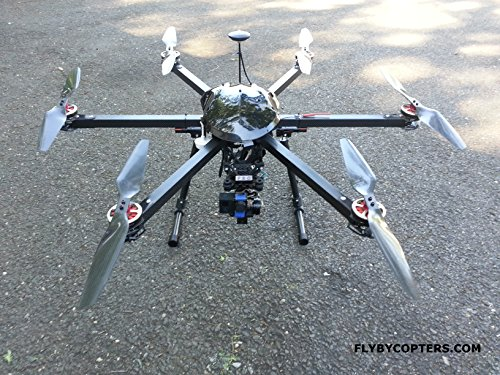 4K UHD Hexacopter Drone/UAV with AutoPilot