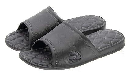 981d94c42 Happy Lily Women/Men's Slip On Slippers Non-slip Shower Sandals House Mule  Soft