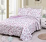 quilt double bed - Printing Damask Quilt Set Queen Size (90