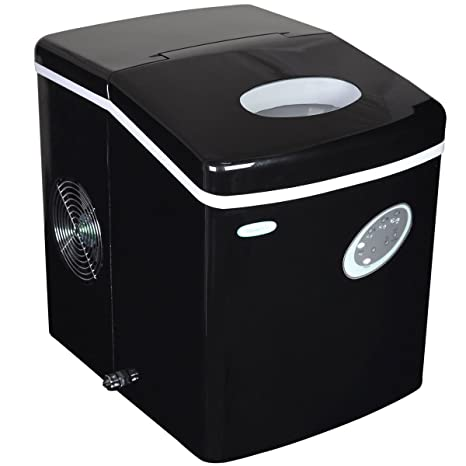 NewAir AI 100BK 28 Pound Portable Ice Maker, Black