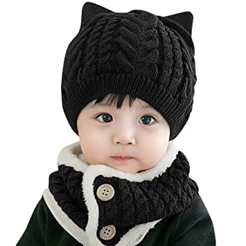 Image Unavailable. Image not available for. Color  Little Kid Soft Warm  Knitted Hat ... 4a59da187f3a