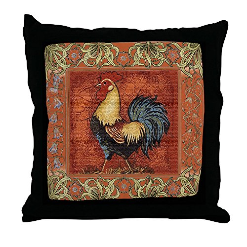 CafePress French Country Le Coq Rooster Decor Throw Pillow (18