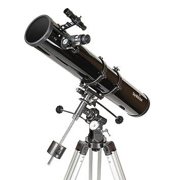 prezzo migliore le più votate più recenti vendita uk Sky-Watcher Newton Telescopio 114/900, Montatura Equatoriale Eq1, Nero