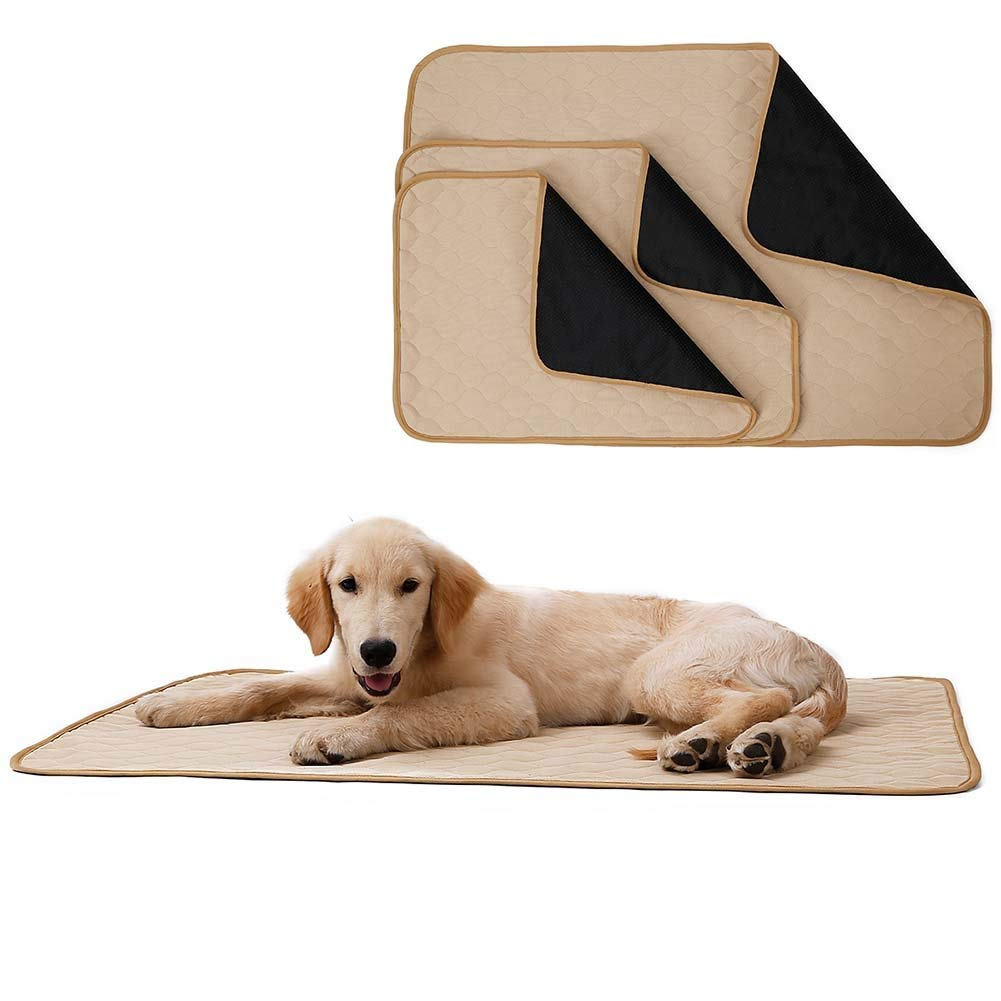 Beige S Beige S Albabara Pet Dog Mat Blanket, Washable Waterproof Pet Mat Blanket Sheet Dog Cat Indoor Outdoor Lawn Use Suitable Pet Bed Cage Perfect Predector Sofa & Car Seat