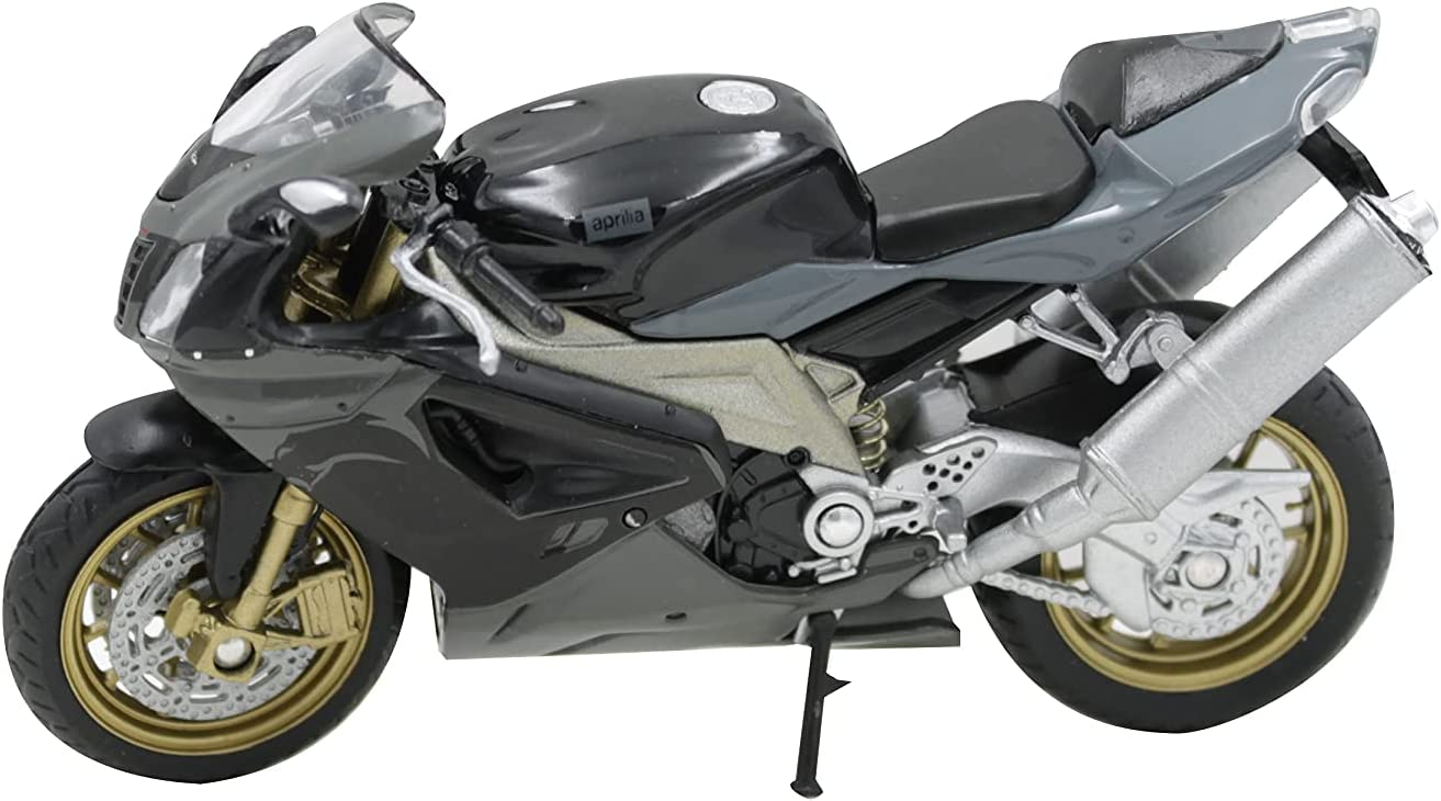 Welly Die Cast Motorcycle Aprilia RSV 1000 R Factory 1:18 Scale Collectable Model