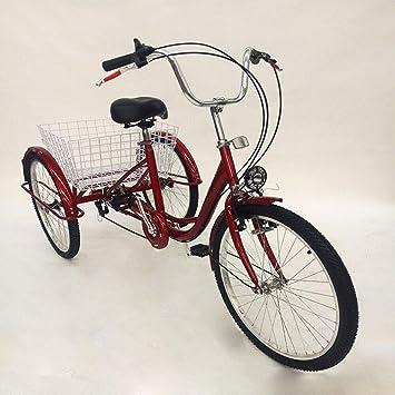 MINUS ONE Triciclo para Adultos Adulto Triciclo Bicicleta con 3 ...