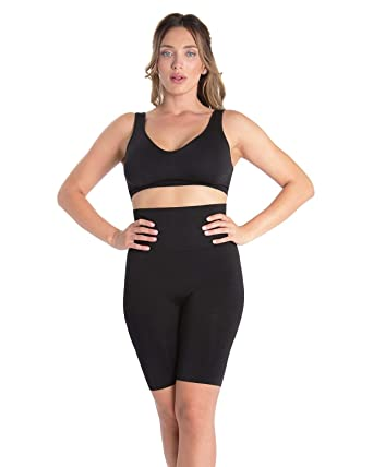 4e2ff2e3a35be SlimMe Patrona High Waist Thigh Shaper - Shapewear at Amazon Women s  Clothing store
