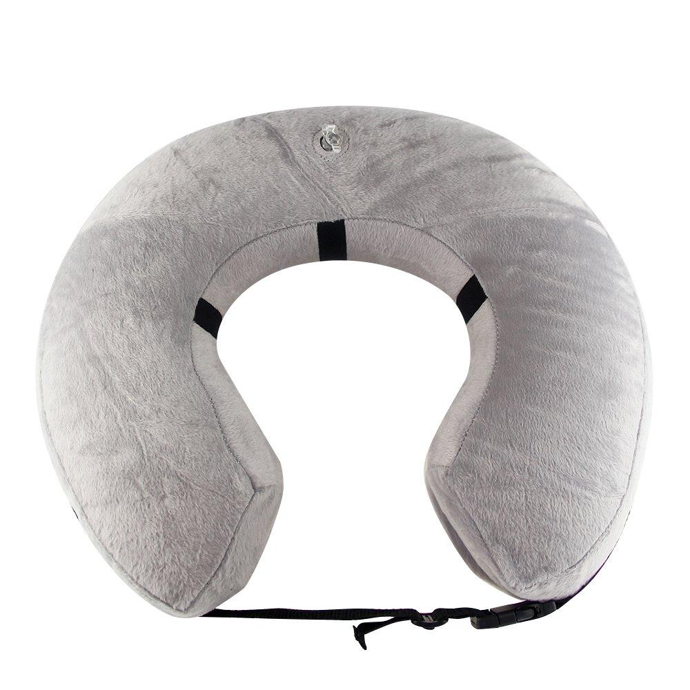 PET SPPTIES Collier Gonflable de Récupération Confortable Collerette de Protection pour Chien Chats, Ajustable, Lavable PS005 (XL)