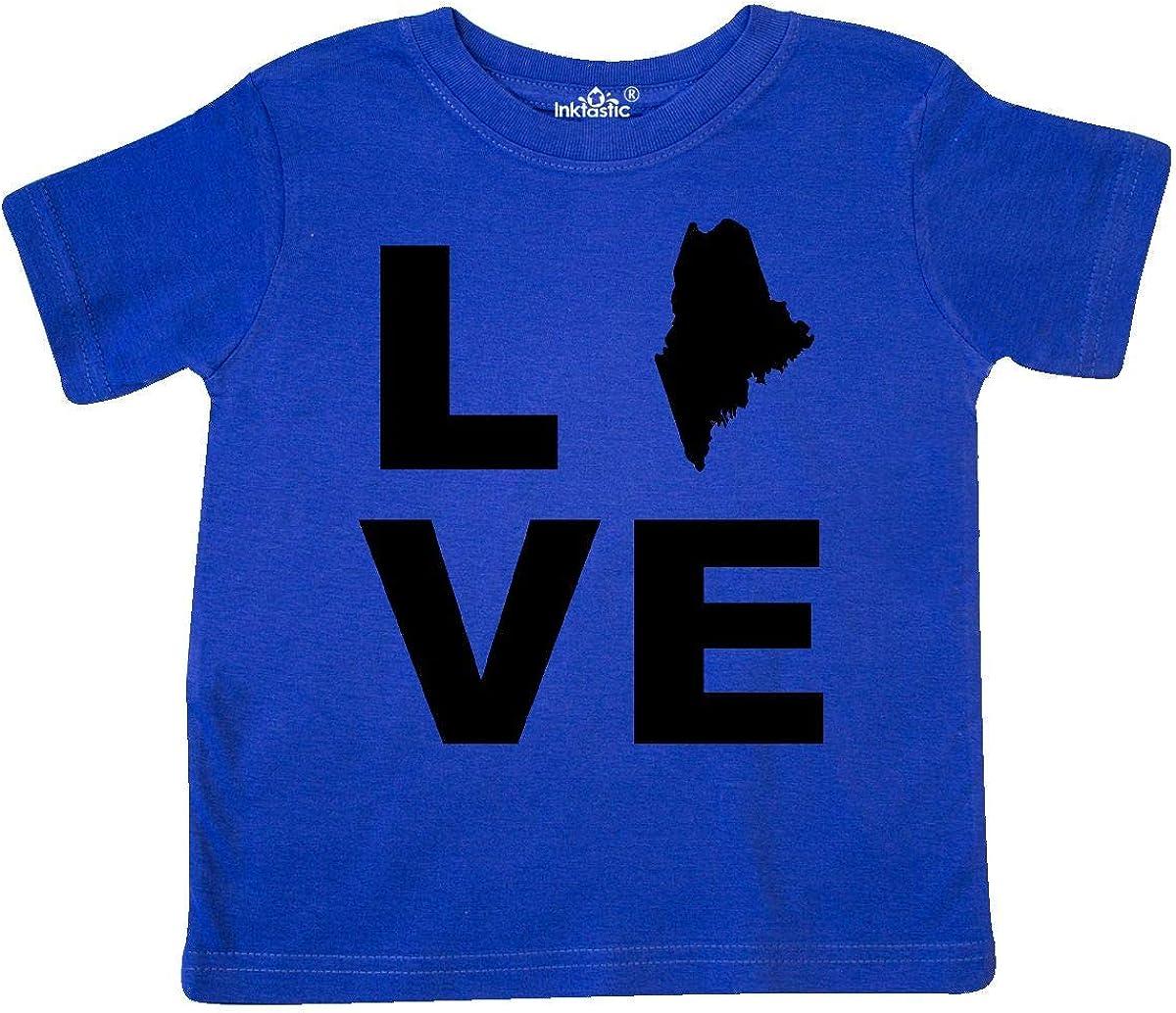 inktastic Love Maine Toddler T-Shirt