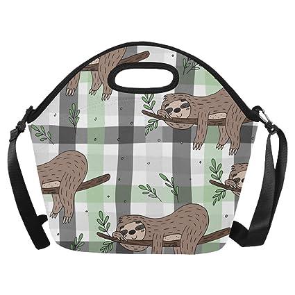 0983d7f3e2a1 Amazon.com - InterestPrint Neoprene Lunch Tote Bag Custom Cute ...