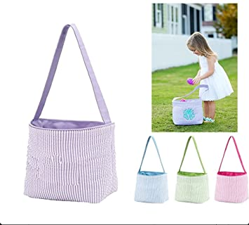 a0dbb1775b0 Amazon.com   Easter Basket for Kids Easter Bunny Bag Easter Decorations    Baby