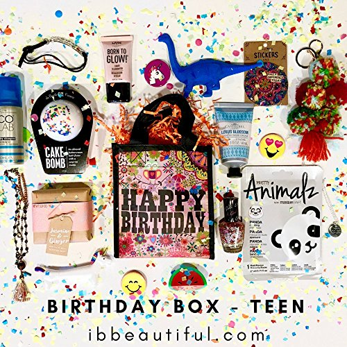 Review Birthday Box for Teens