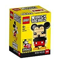 【9月新品】LEGO 乐高  拼插类 玩具  BrickHeadz 方头仔系列 方头仔-米奇 41624 10+岁