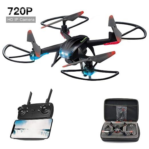 Dayangiii RC Quadrocopter, Mini Drone FPV Drones con cámara HD de ...