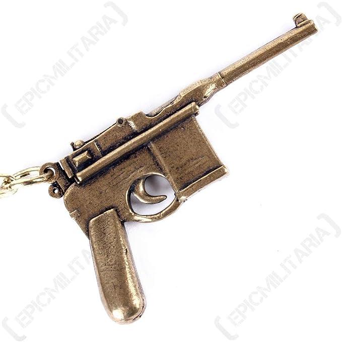 Epic Militaria Llavero Pistola Mauser C96: Amazon.es: Ropa y ...