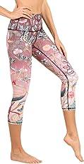 Yoga Democracy Eco-Friendly Pretty in Pink Leggings (Crops)