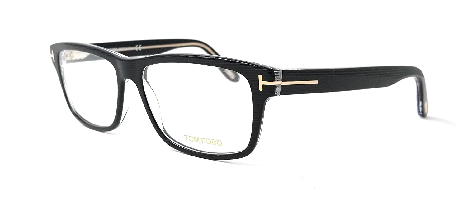 c04bbf74eb New Tom Ford Eyeglasses Men TF 5320 Black 005 TF5320 56mm at Amazon Men s  Clothing store