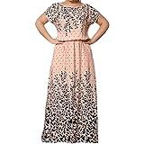 Tootless vestido de festa longo feminino hipster tamanho grande slim confortável estampado chiffon