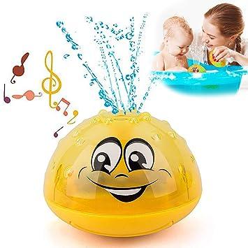 Kinder Wasserspielzeug Sprühen Brunnen Blinken Badespielzeug Badewannenspielzeug