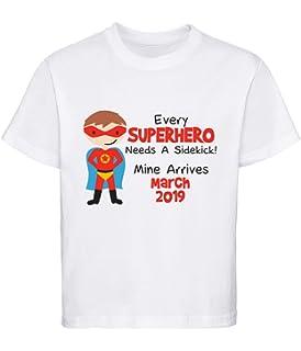 60b0de50 Personalised Boys 'Every Superhero Needs A Sidekick' Big Brother T-Shirt  Style 1