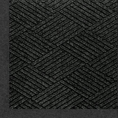 (M+A Matting 2297 Waterhog Eco Premier Fashion PET Polyester Fiber Indoor/Outdoor Floor Mat, SBR Rubber Backing, 3' Length x 2' Width, 3/8