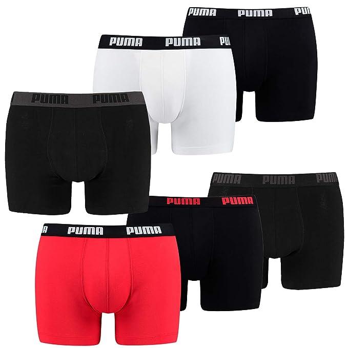 Qualitätsprodukte gute Textur beste website Puma 6 Pack Boxer Boxershorts Men Pant Underwear Sporty ...