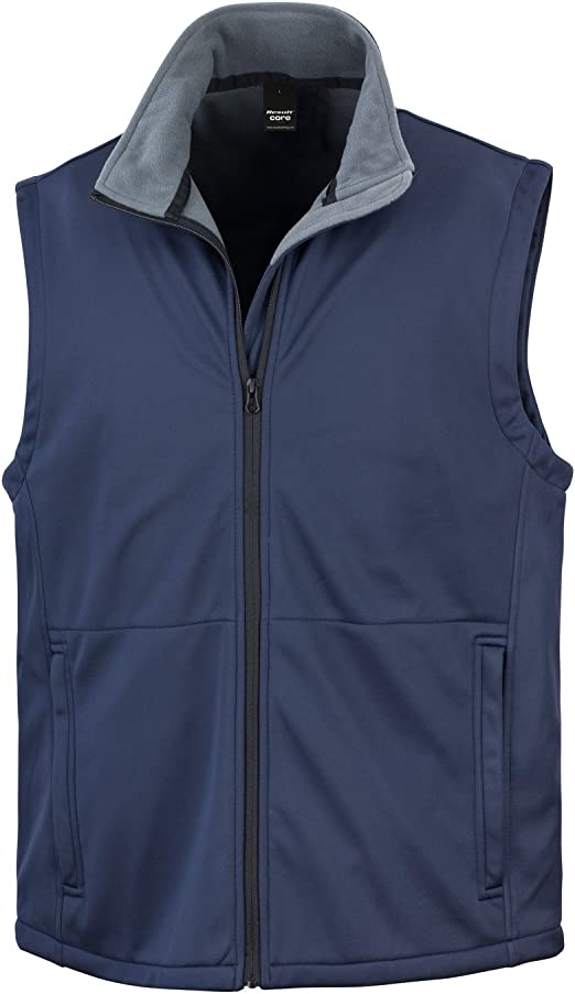 Result Core Mens Micro Fleece Gilet