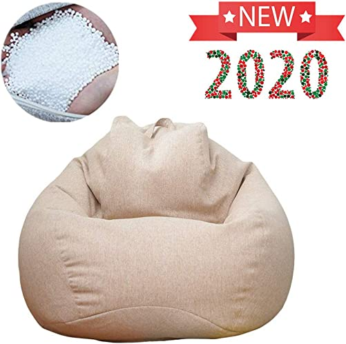 QBABY Lazy Soft Beanbag Chair Memory Foam Bean Bag Seat Chair