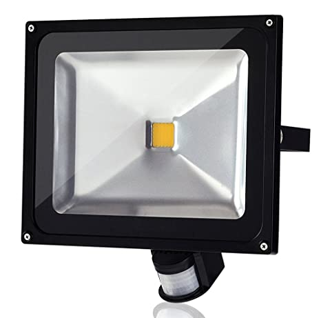 50w led smd flood light waterproof ip65 pir sensor perfect for