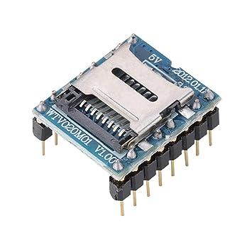 Módulo de Voz, Mini Reproductor de MP3 Módulo de Audio Tarjeta de ...