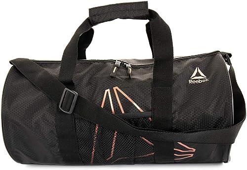 Reebok Plyo Small Gym Bag for Men and Women, Compact Sports Duffle Bag