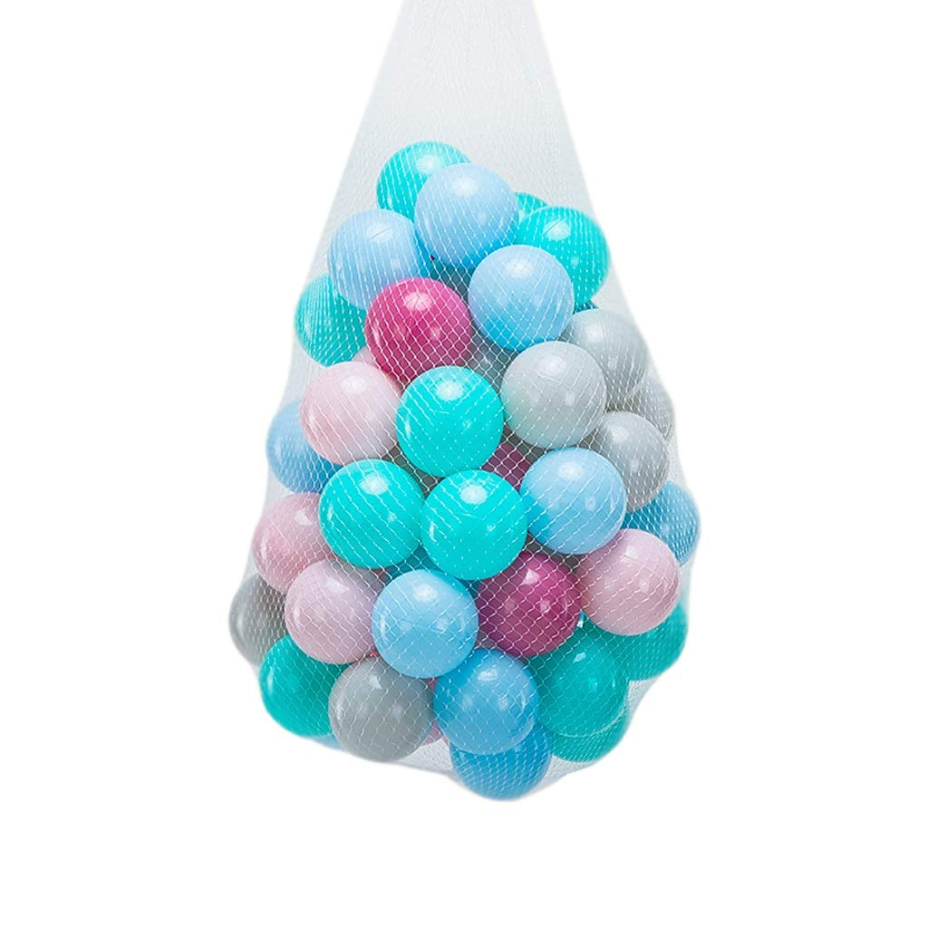LIUFS-Ocean Ball Children's Fencing Bouncy Ball Thickened Toy Ball Plastic Soft Ball Room Decoration Playground Marine Ball (Size : 200)
