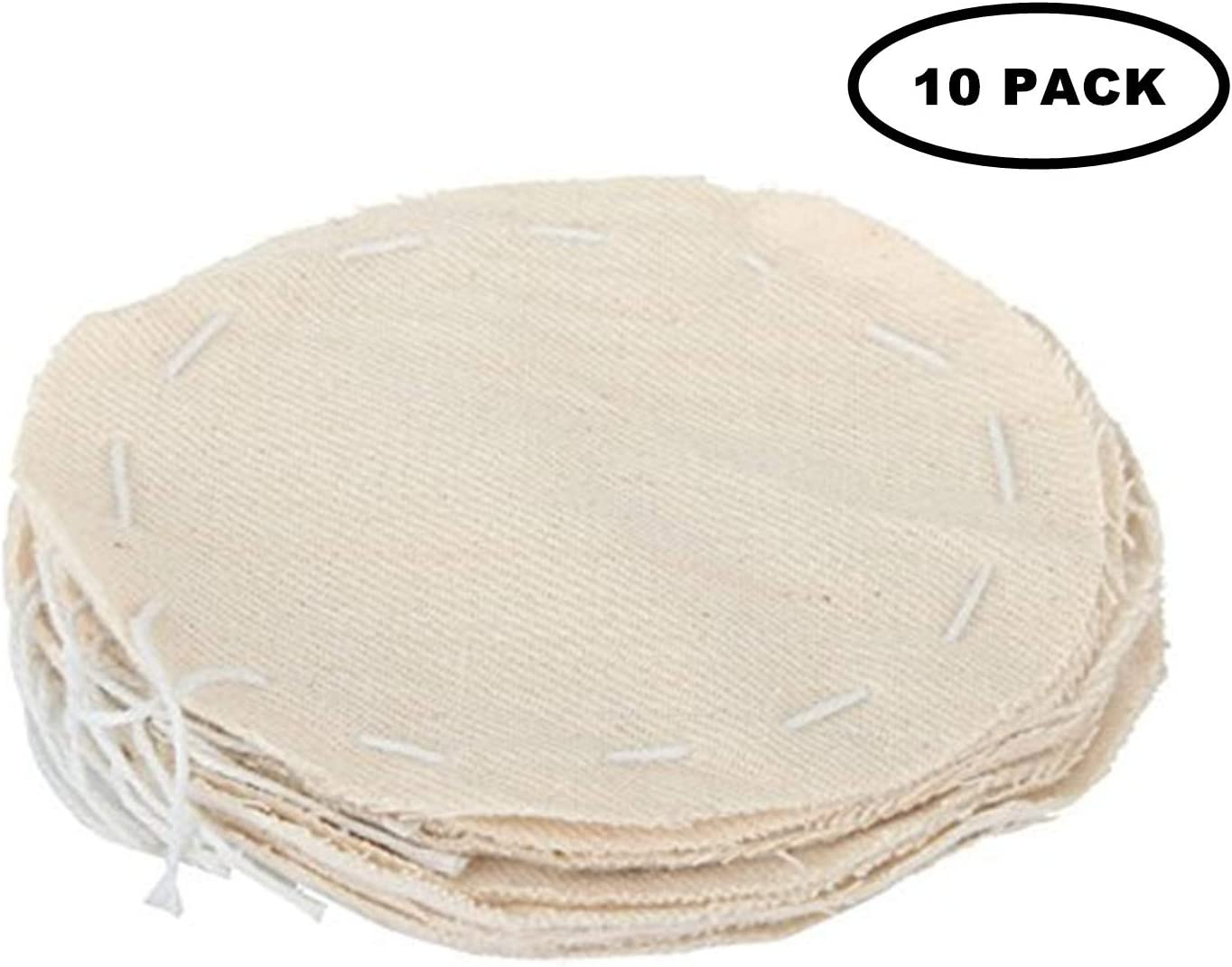 PPX Coffee Syphon Cloth Replacement Filter for Hario Syphon, Yama Siphon and Other Syphon Coffee Maker, Balance Syphon Coffee Maker, Vacuum Pot Filters - Pack of 10 pcs