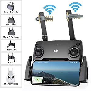 RCGEEK Yagi Mavic Mini Drone Range Extender Remote Controller Antenna Signal Booster Compatible with DJI Mavic Pro Mavic 2 Spark Mavic Air 1 EVO II Remote Controller NOT for Mavic Air 2