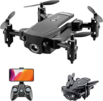 GoolRC KK8 Mini Drone RC Quadcopter 15mins Flight Time 360 Degree Flip 6-Axis Gyro Altitude Hold Headless Remote Control for Kids or Adults Training 1 Battery
