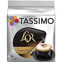 TASSIMO L'Or Café Capuccino - 5 paquetes de 8 unidades: Total 40 unidades