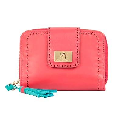 7698ac69f VELEZ 08695 Women Genuine Colombian Leather Wallet Credit Card Holder    Billetera de Cuero Colombiano para