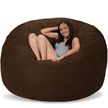 Amazing Amazon Com Ultimate Bean Bag Chair For Home Theaters 6 Ft Unemploymentrelief Wooden Chair Designs For Living Room Unemploymentrelieforg