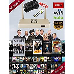 Best Arabic IPTV 800+ Channels Arabic TV HD Receiver Box With Free Keyboard & Super Android Key