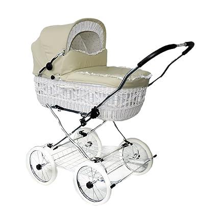 Eichhorn cesta de mimbre de estructura de carrito con correa ...