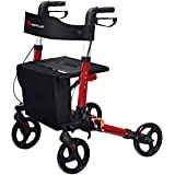 Amazon.com: ELENKER – Andador de andador plegable con ...
