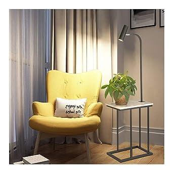 0 Lámpara de piso, LED Fuente de luz Mesa Lámpara de piso, moderna ...