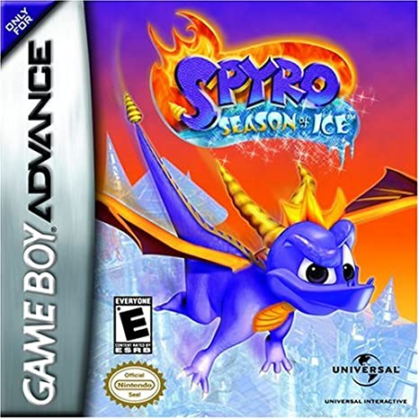 GameBoy Advance - Spyro: Season of Ice: Amazon.es: Videojuegos
