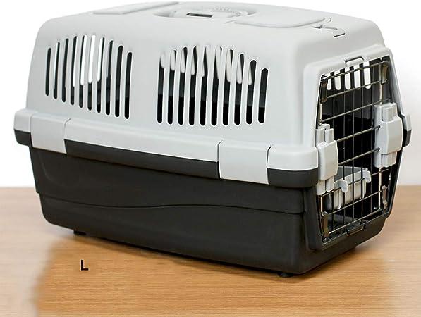 Pet supplies Caja de Transporte para Mascotas - para Transporte de Animales Vivos, Transpirable, portátil, transportadora de Viaje para Perros/Gatos / Cachorros, 2 Colores Opcionales: Amazon.es: Hogar