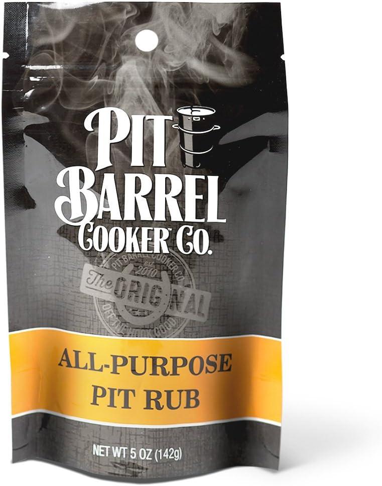 Pit Barrel Cooker PR005AP Purpose Pit Rub 5 oz. Bag, One Size