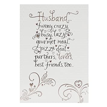 best anniversary cards for husband