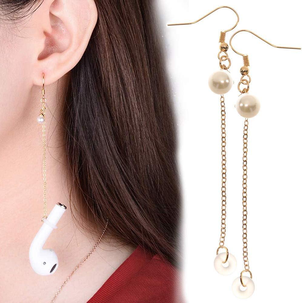 Earphone Earrings Anti Lost Wireless Earphone Jewelry Hangers