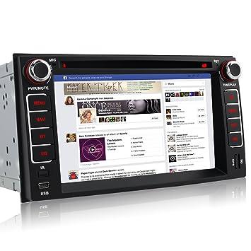 Iauch 6.2 pulgadas HD de pantalla táctil WinCE 6.0 coche estéreo con reproductor de DVD GPS